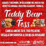 Al palaLumaka torna la magia del Teddy Bear Toss!